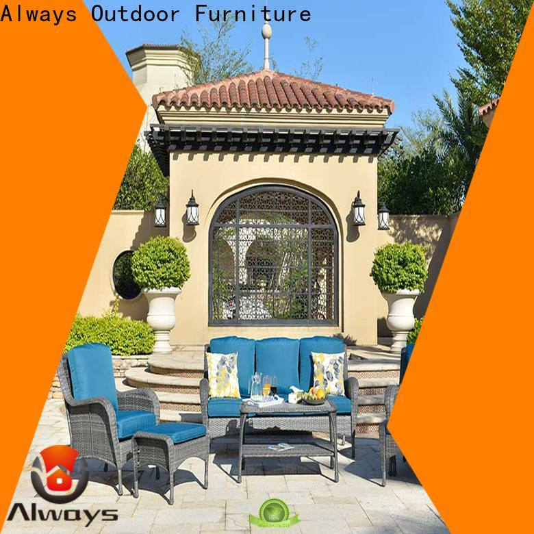 Always workmanship best patio furniture set for gardens
