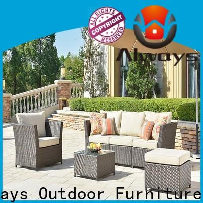 Always weatherproof outdoor furniture wholesale manufacturer for porch