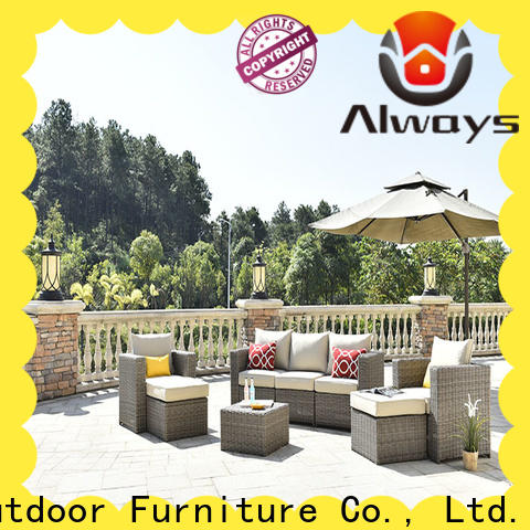 Always sofa sectional patio furniture environmentally friendly for terraces