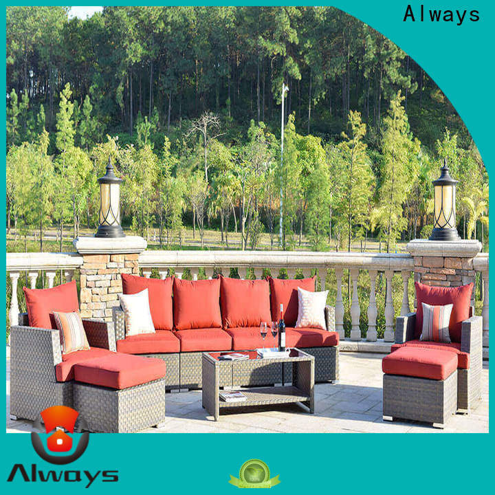 Always customized poolside furniture environmentally friendly for terraces