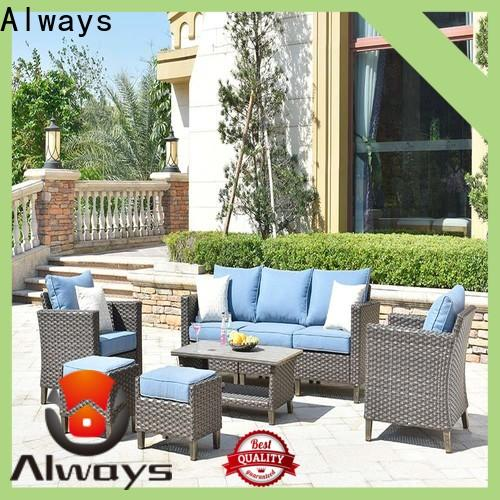 Always color outdoor pool furniture factory price for porch