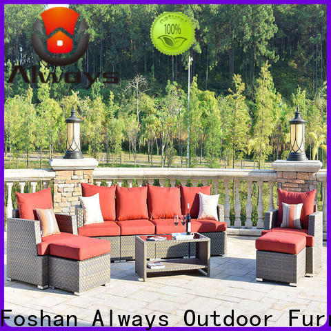 Always brown poolside furniture couch for gardens
