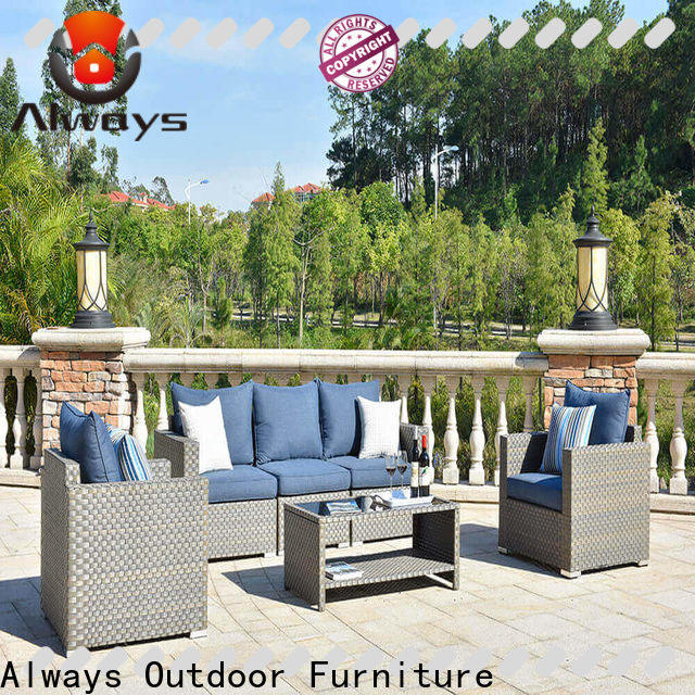 sectional patio furniture seating for sale for gardens