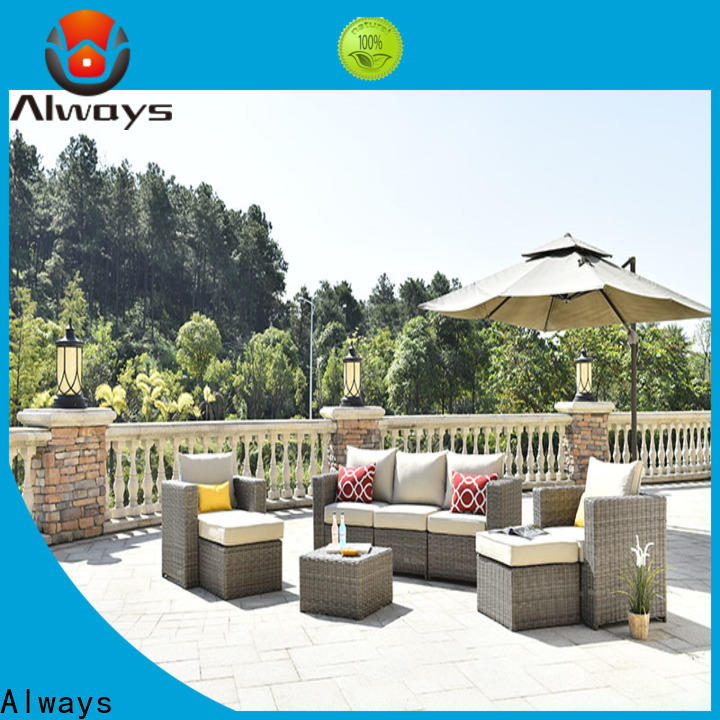 Always fashionable outdoor furniture wholesale from China for swimming pools for outdoor leisure for places