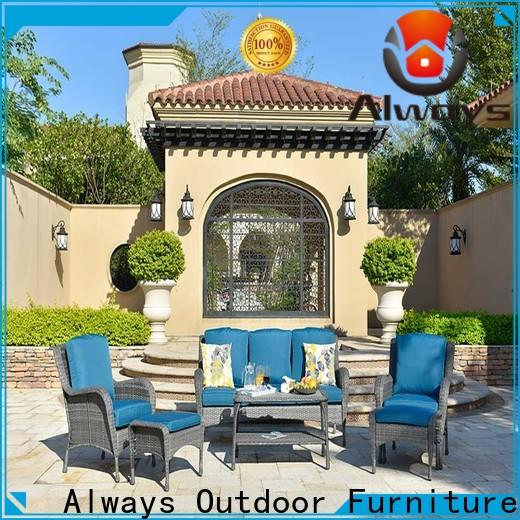 customized wicker outdoor furniture coffee for sale for swimming pools for outdoor leisure for places