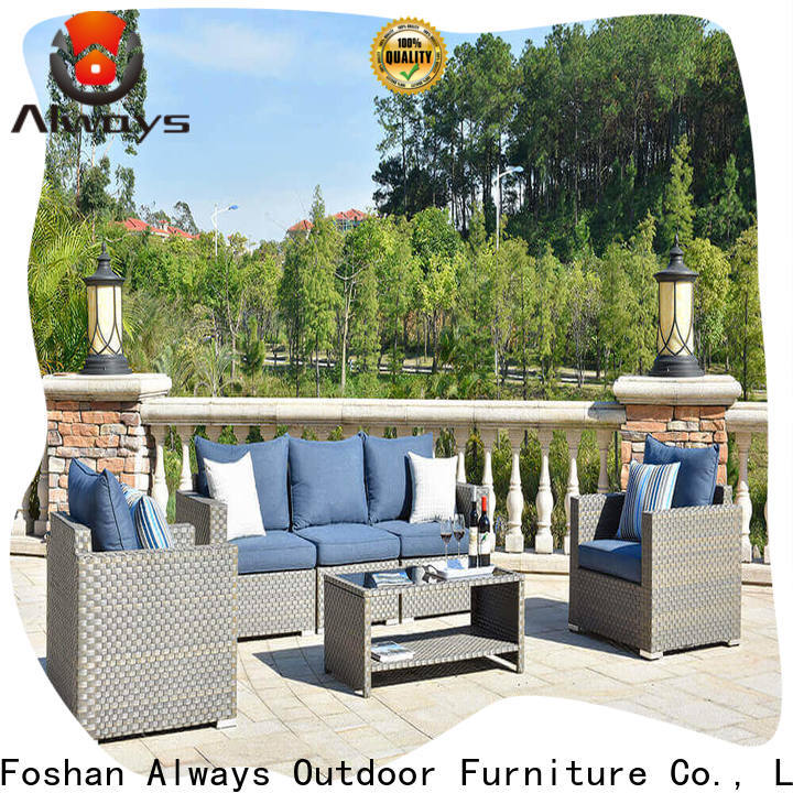 Always tolkien wicker patio sofa from China for swimming pools for outdoor leisure for places