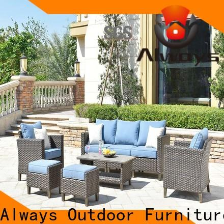 Always outdoor pool furniture from China for terraces