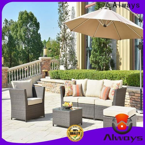Always seating best patio furniture factory price for porch