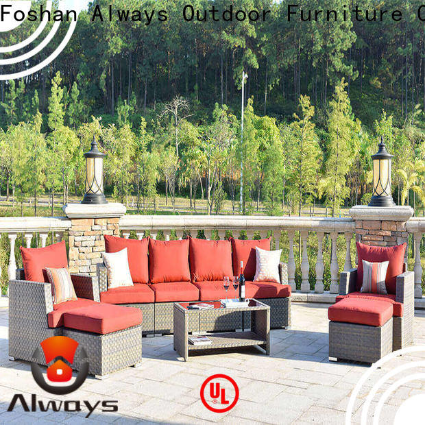 Always augtus wicker outdoor furniture for sale for gardens