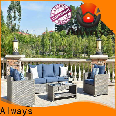 durable wicker patio sofa khaki for sale for terraces