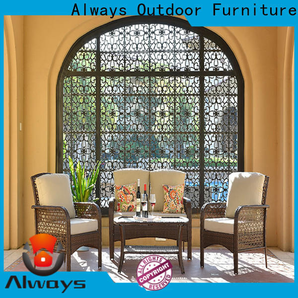 Always ethereal outside patio furniture set for gardens