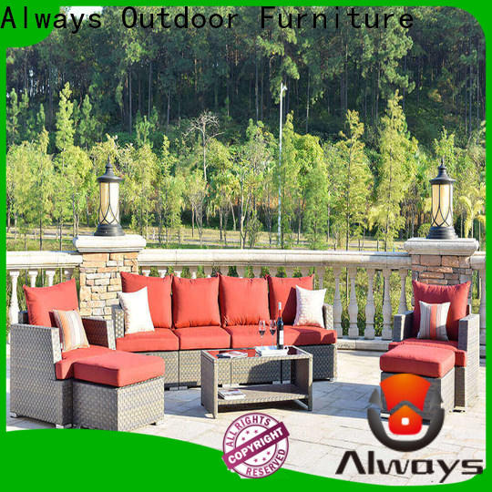 weatherproof poolside furniture table from China for swimming pools for outdoor leisure for places