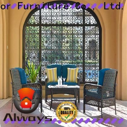 beautiful wholesale patio furniture table factory price for gardens