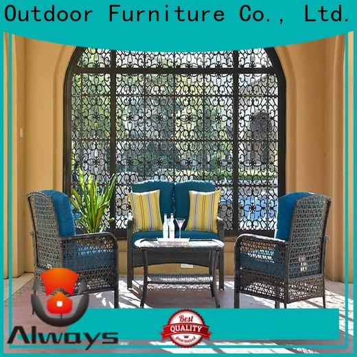 Always comfortable wicker patio sofa for sale for swimming pools for outdoor leisure for places