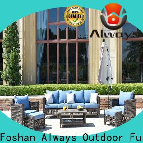 Always kenard all weather wicker sofa for swimming pools for outdoor leisure for places