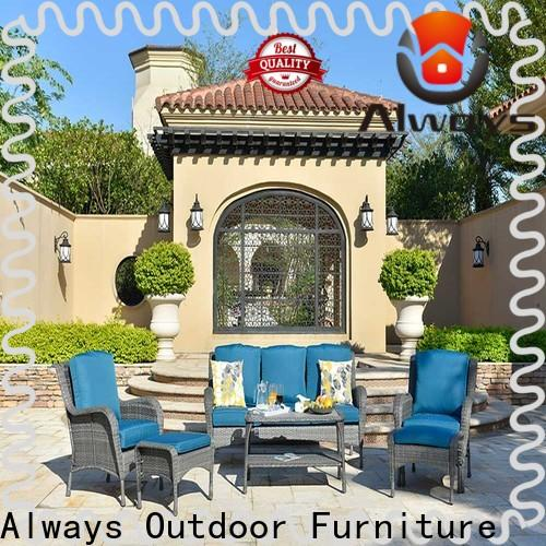 Always comfort poolside furniture factory price for swimming pools for outdoor leisure for places