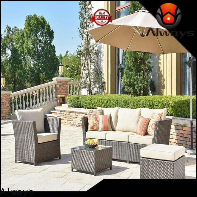 Always weatherproof outside patio furniture environmentally friendly for terraces