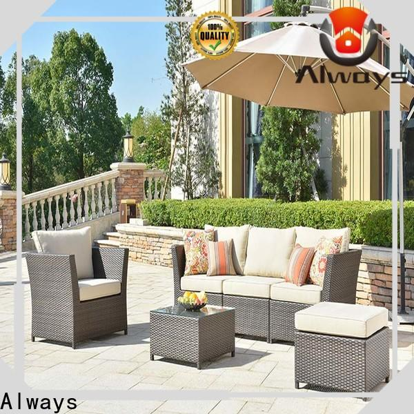 Always coffee outdoor wicker sofa for sale for porch