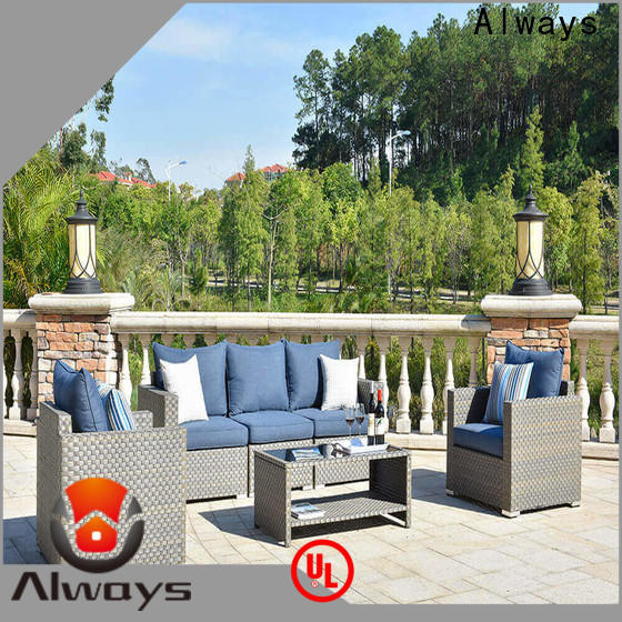 resin patio furniture color for gardens