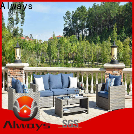 Always munlti-function outdoor pool furniture couch for gardens