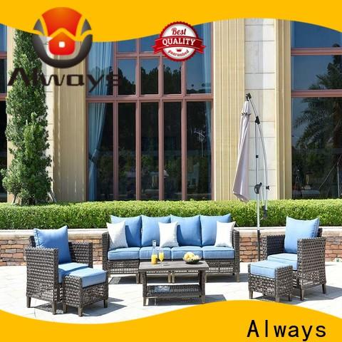 Always big commercial outdoor furniture wholesale factory price for swimming pools for outdoor leisure for places