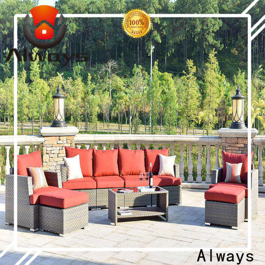 durable outdoor wicker patio furniture patio factory price for swimming pools for outdoor leisure for places