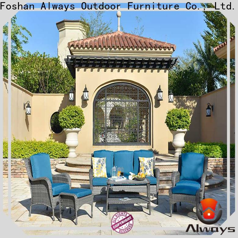 Always munlti-function outdoor pool furniture couch for terraces