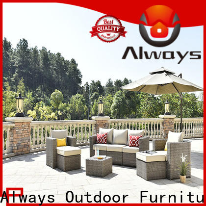 durable outside patio furniture resin environmentally friendly for terraces