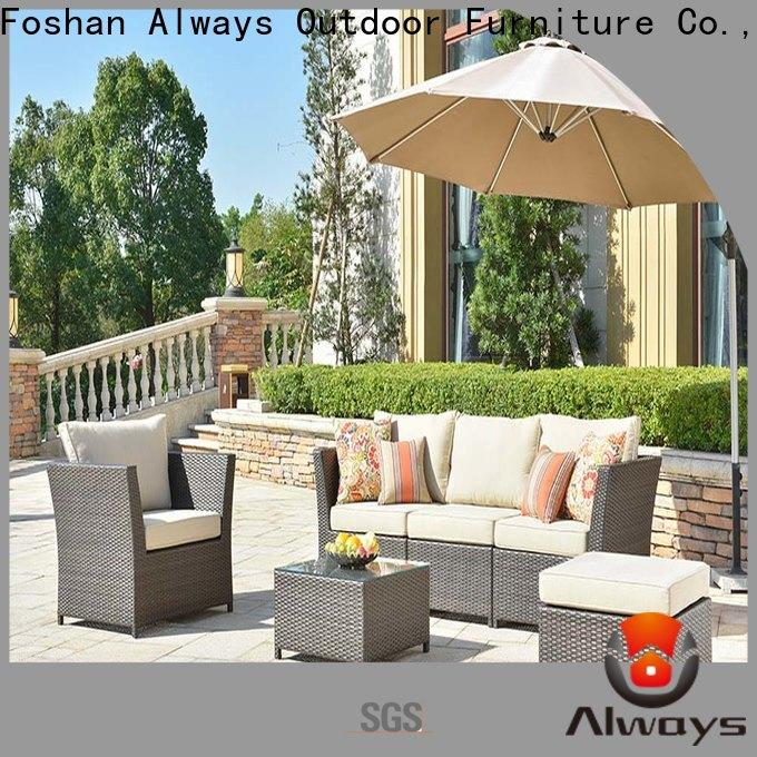 comfortable resin wicker patio furniture wicker manufacturer for swimming pools for outdoor leisure for places