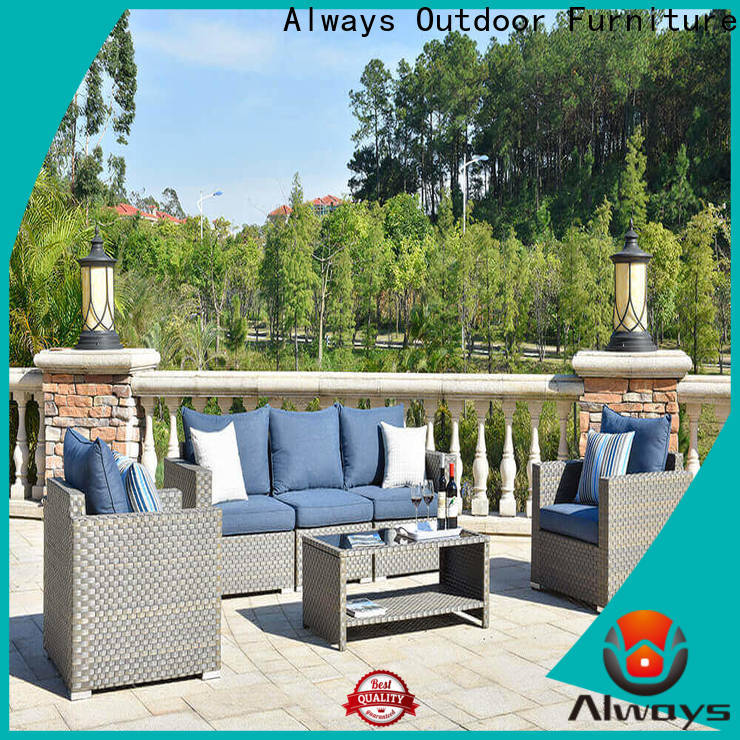 Always high quality wicker style patio furniture environmentally friendly for porch