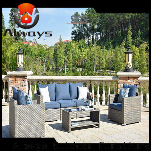 high quality all weather wicker sofa garden couch for gardens