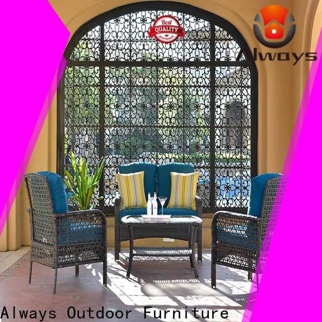 Always highgrade wicker style patio furniture promotion for porch
