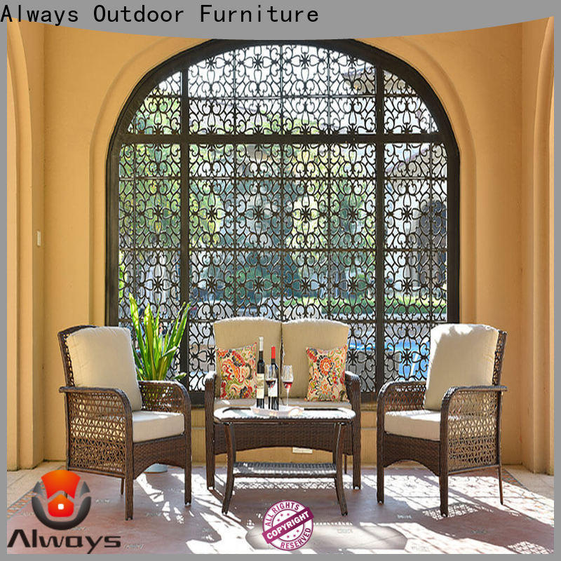 Always dothea dining patio furniture from China for terraces