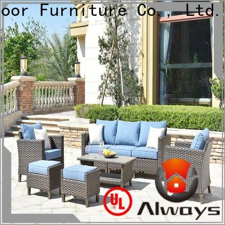Always vultros wicker patio sofa environmentally friendly for swimming pools for outdoor leisure for places