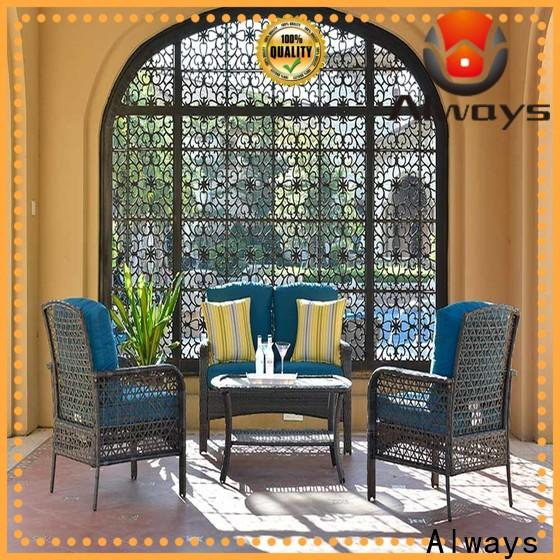 Always frame outdoor furniture wholesale manufacturer for gardens