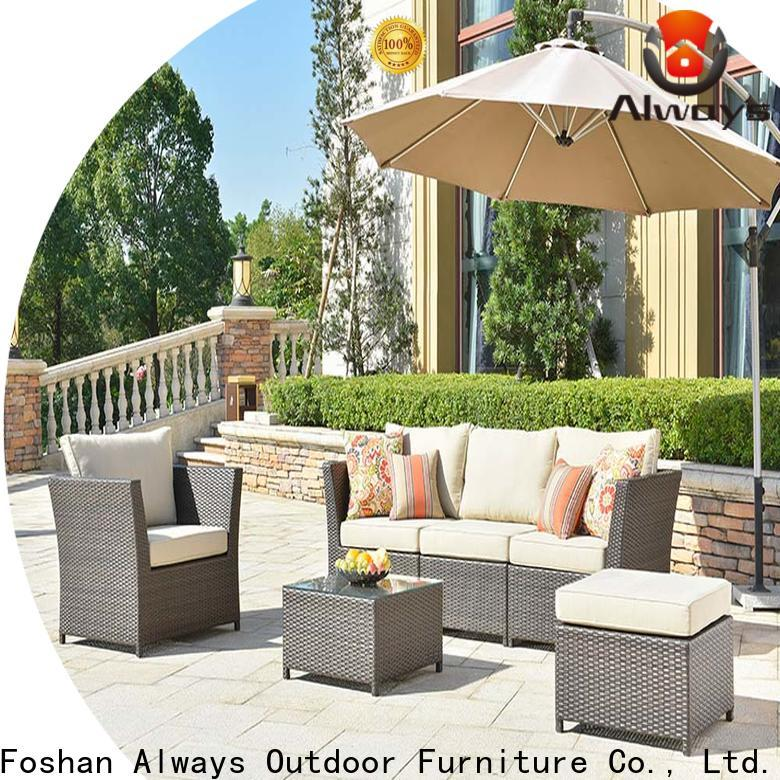 Always utility wicker outdoor furniture for sale for porch