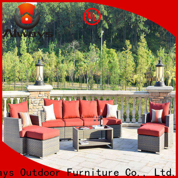 customized commercial outdoor furniture wholesale garden manufacturer for gardens