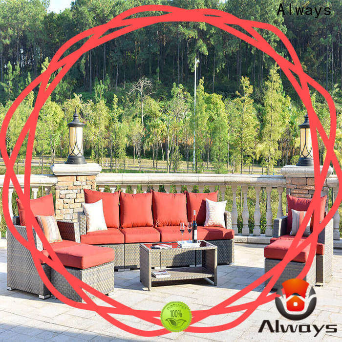 Always sofa dining patio furniture environmentally friendly for terraces