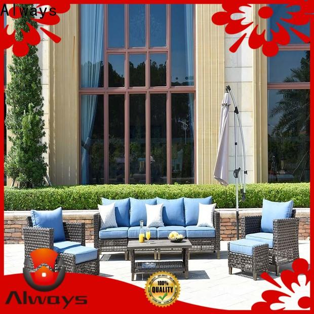 comfortable resin wicker patio furniture sofa for sale for swimming pools for outdoor leisure for places