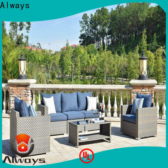 high quality wicker patio sofa table environmentally friendly for terraces