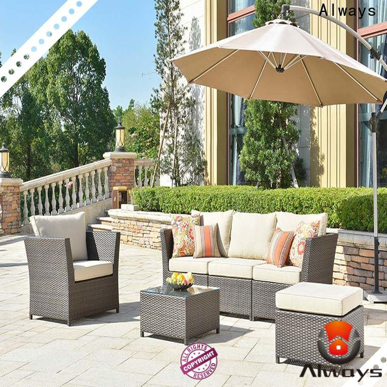 Always material wholesale patio furniture environmentally friendly for porch