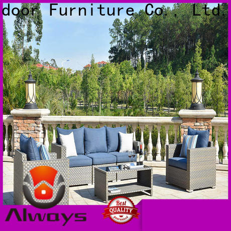 cane outdoor wicker sofa size manufacturer for gardens