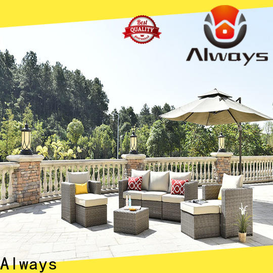 comfortable all weather wicker sofa furniture for terraces