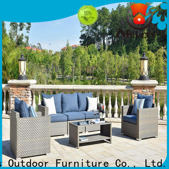 cane outdoor furniture wholesale aluminum from China for terraces