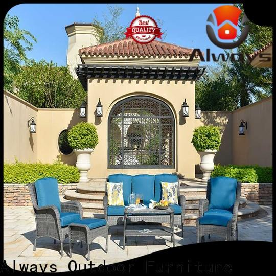 Always exquisite wicker style patio furniture promotion for swimming pools for outdoor leisure for places