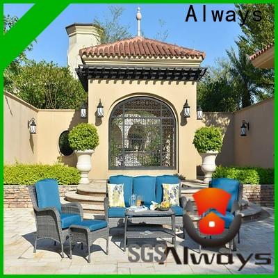 Always style outside patio furniture promotion for gardens