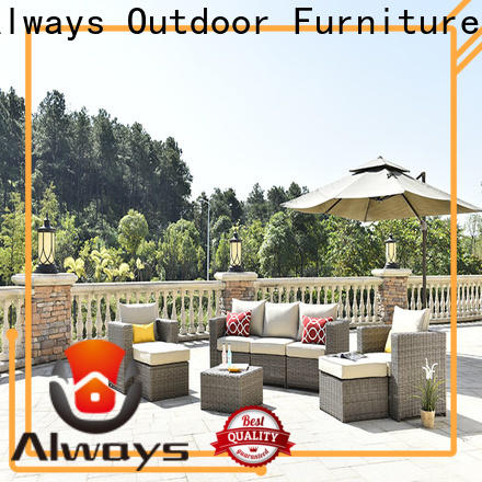 Always outdoor resin wicker patio furniture for swimming pools for outdoor leisure for places