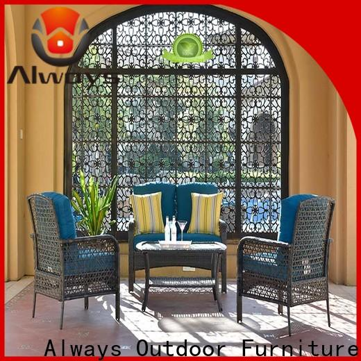 Always sofa dining patio furniture promotion for gardens