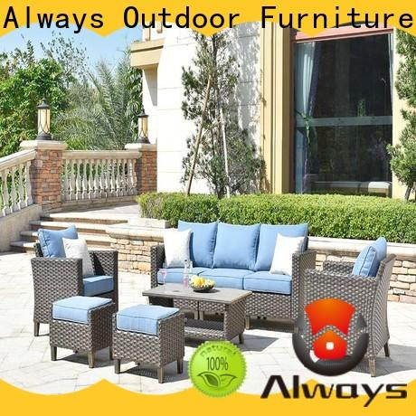 beautiful dining patio furniture highgrade from China for gardens