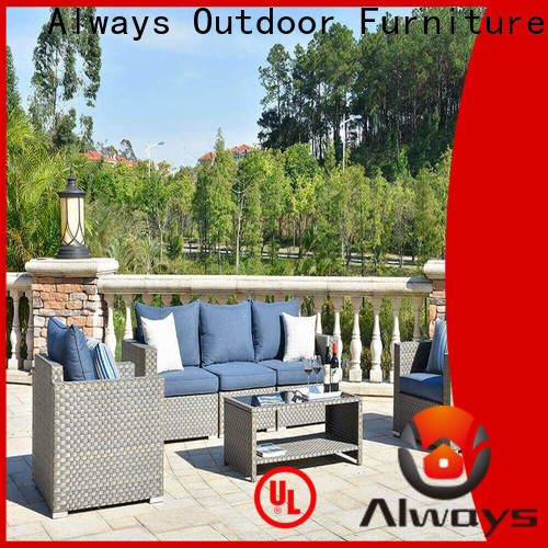 Always high quality resin patio furniture from China for gardens